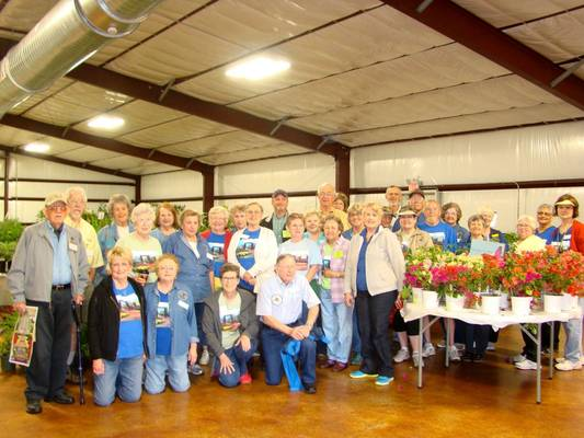 Victoria County Master Gardeners on hand