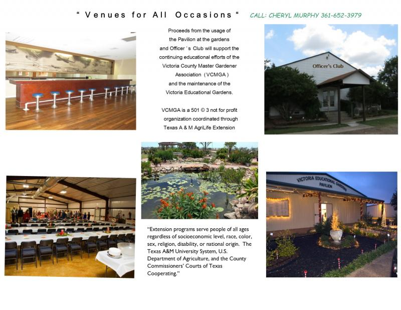 VENUES for all occasions