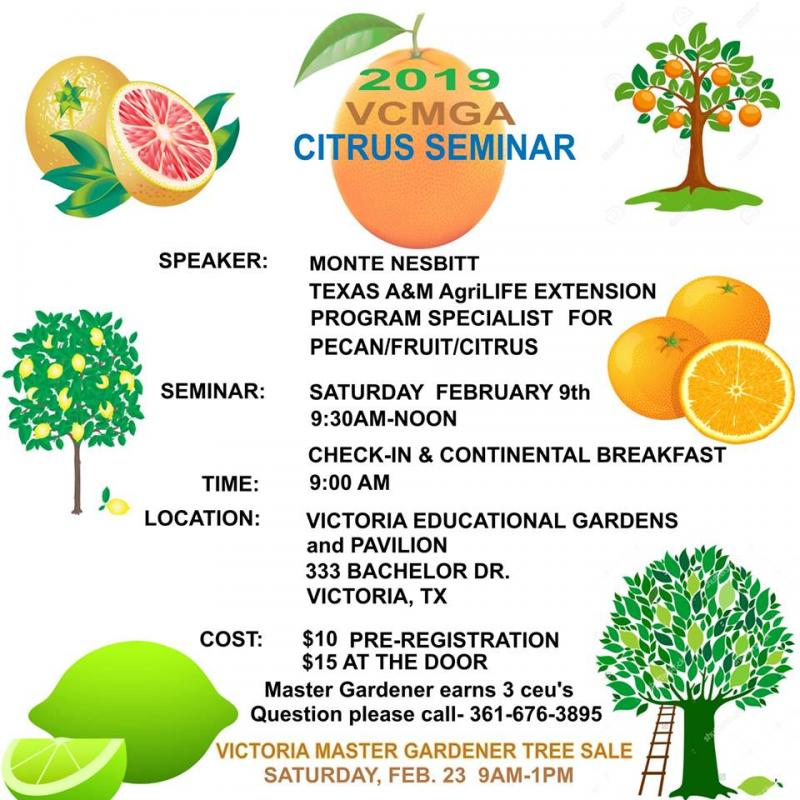 Citrus Seminar and Tree Sale